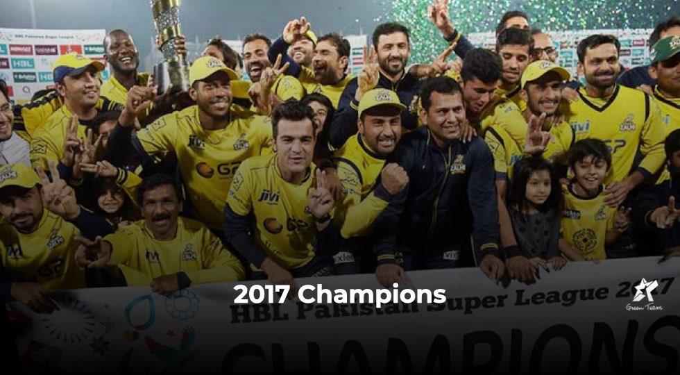 PSL Final: Peshawar Zalmi