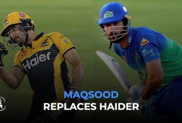 Haider and Maqsood playing PSL