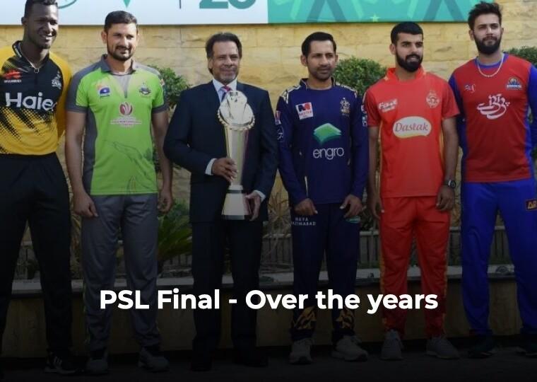 PSL Final Captains