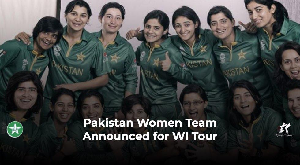 Pakistan Women Team group photo