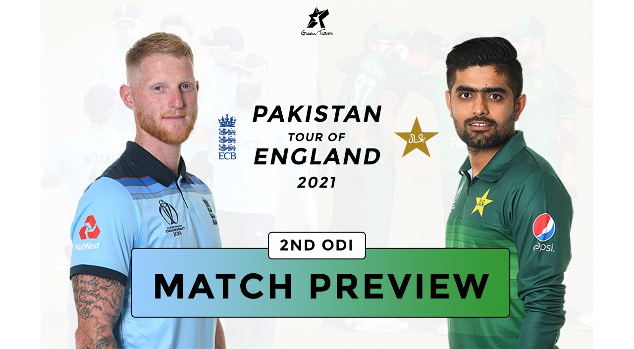 Ben Stokes and Babar Azam ahead of 2nd ODI Match