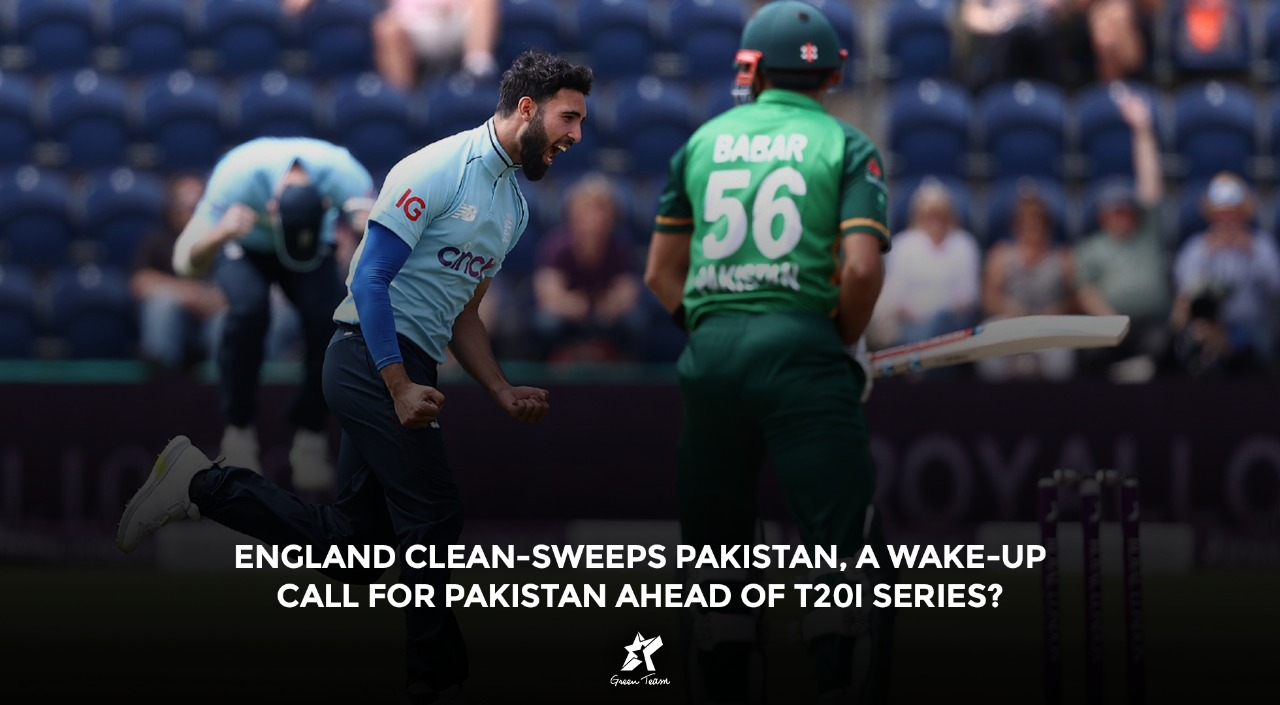 England Clean-Sweep Pakistan in ODI Series
