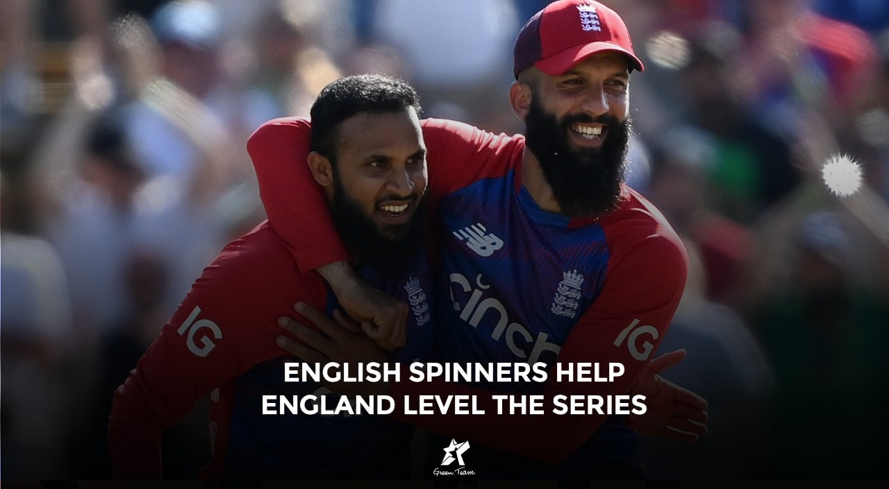 England level the series with help of Rashid's bowling