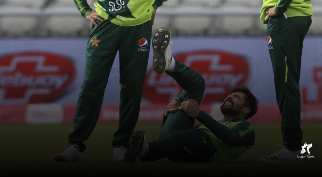 Mohammad Amir pulled his hamstring