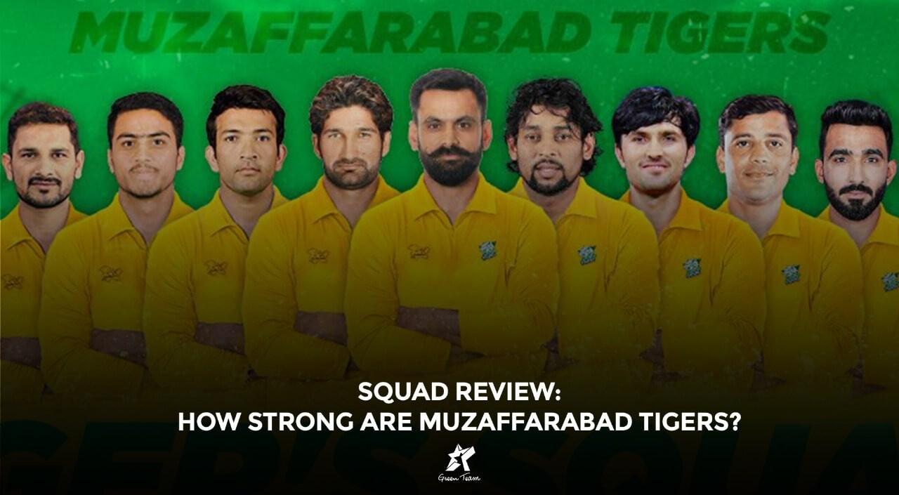Muzaffarabad Tigers Squad Review
