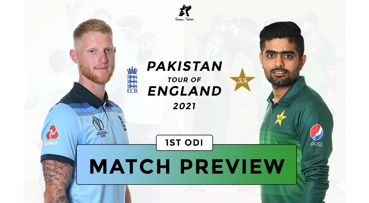 1st ODI Match: Ben Stokes against Babar Azam