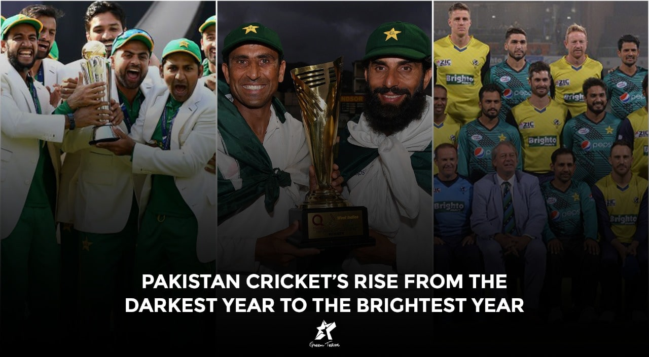 Rise of Pakistan Cricket in 2017 involving big victories