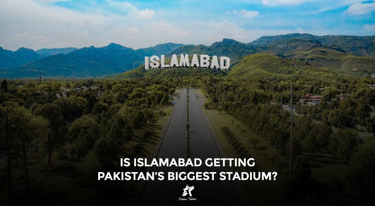 The beautiful Islamabad cricket stadium