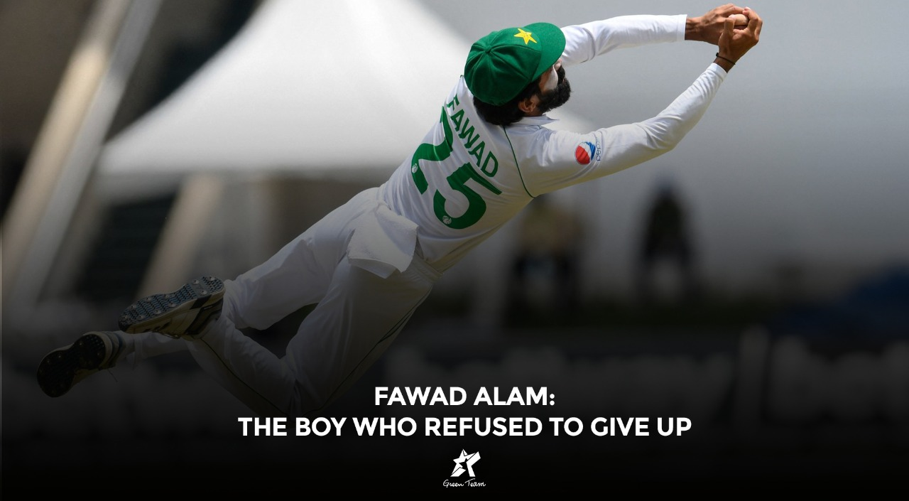 Fawad Alam the fighter