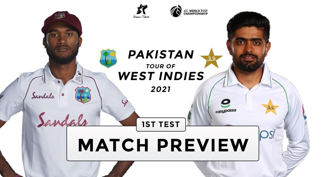 Pak v WI 1st Test Match