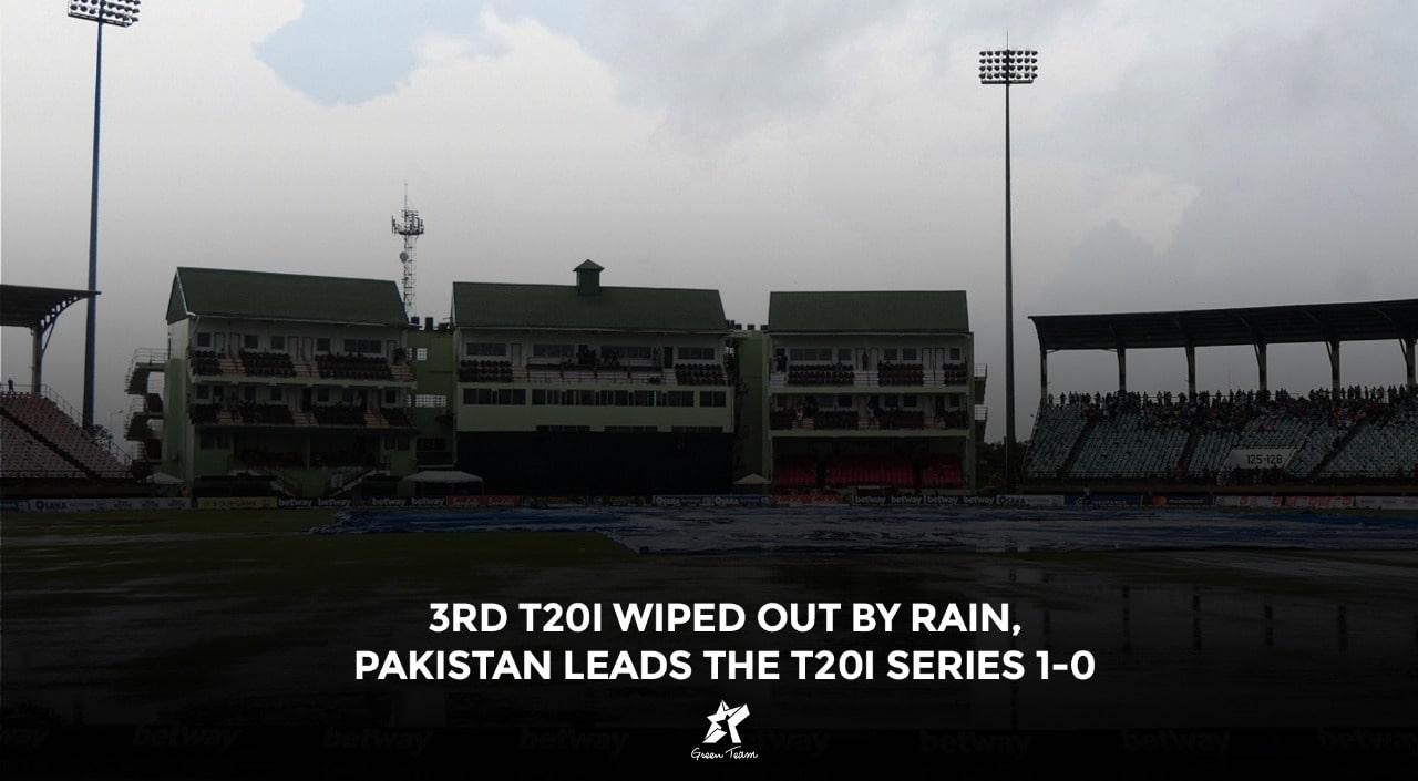 Pakistan leads the T20I Series