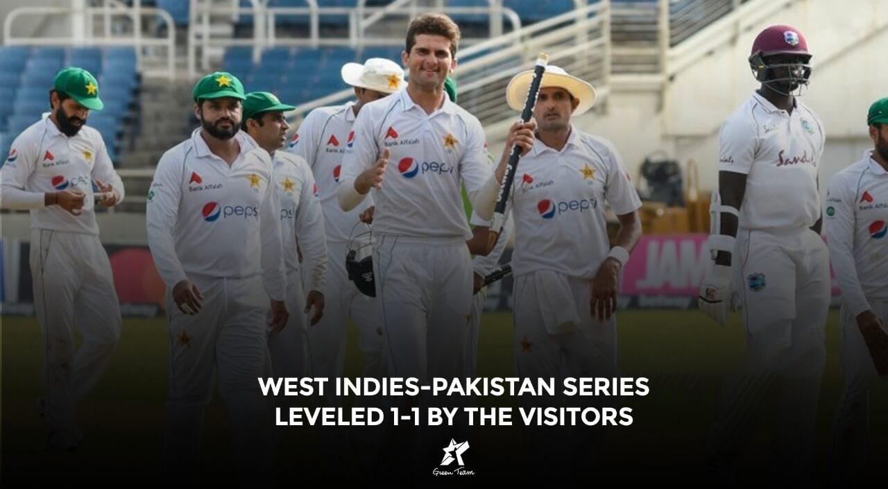 West Indies Pakistan Test Series