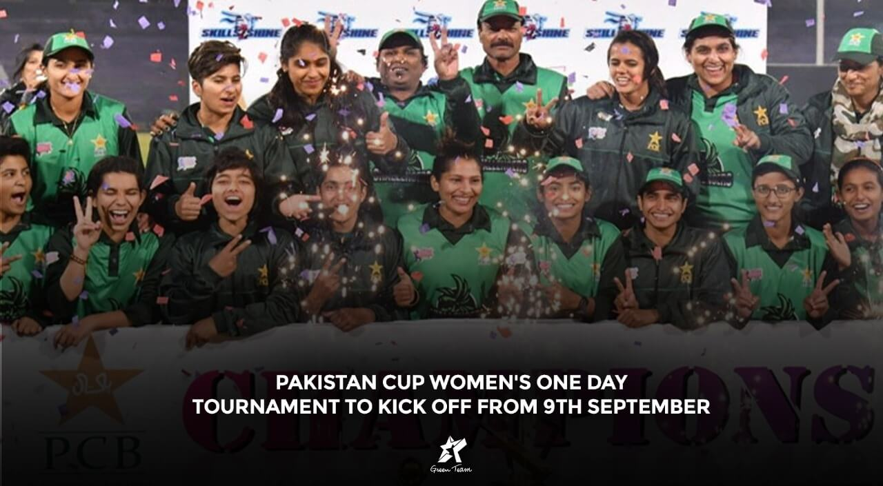Women's one day tournament cover